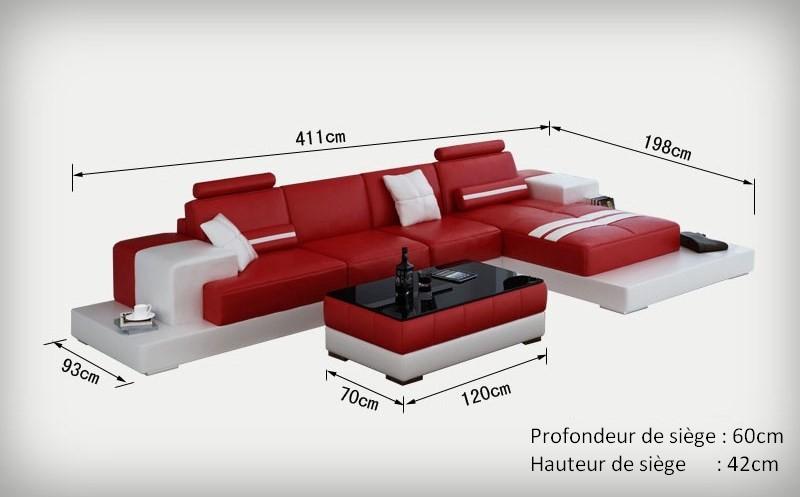 canap d 39 angle design en cuir pino pop. Black Bedroom Furniture Sets. Home Design Ideas