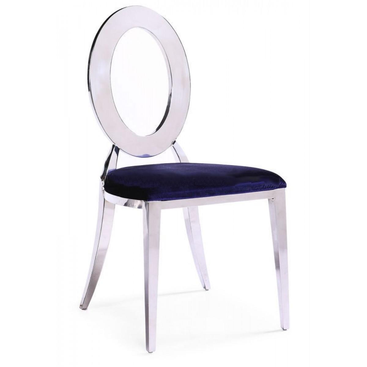 Lot de 6 chaises design royal couleur au choix pop for Lot de 6 chaises design