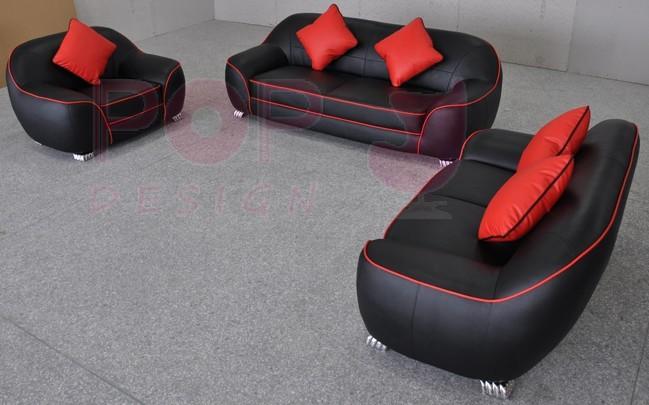 Canap s en cuir design club pop - Canape sortie d usine ...