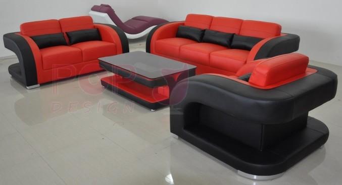 Quelle table basse avec canape rouge - Canape cuir rouge conforama ...