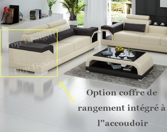 canap d 39 angle panoramique en cuir nimes xl 8 places. Black Bedroom Furniture Sets. Home Design Ideas