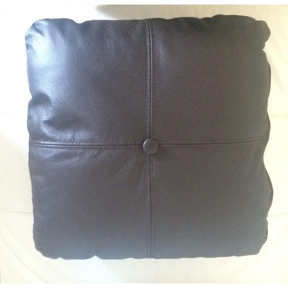 coussin personnalis en simili cuir cuir pour votre canap fauteuils en cuir canap s. Black Bedroom Furniture Sets. Home Design Ideas