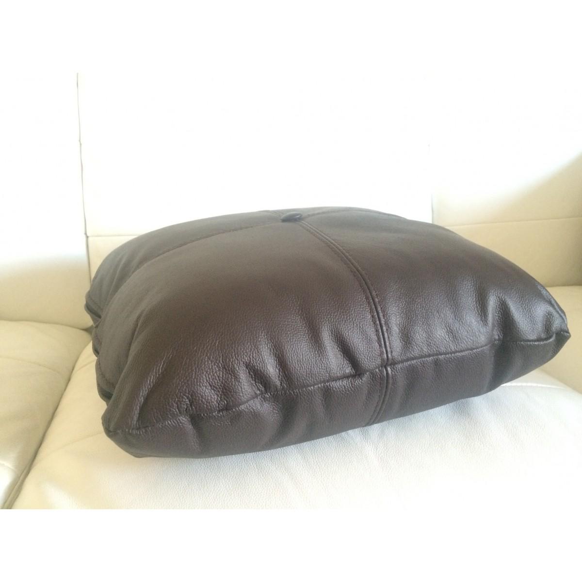 coussin personnalis en simili cuir cuir pour votre canap canap s. Black Bedroom Furniture Sets. Home Design Ideas