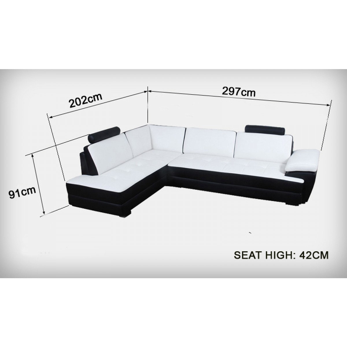 canap d 39 angle en cuir gemma canap s d 39 angle en cuir. Black Bedroom Furniture Sets. Home Design Ideas