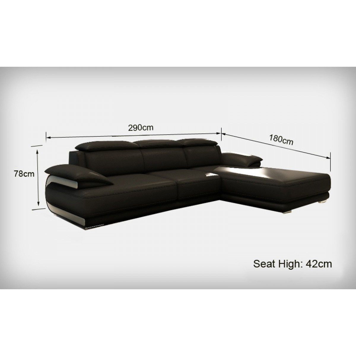 canap d 39 angle en cuir marbella canap s d 39 angle en cuir. Black Bedroom Furniture Sets. Home Design Ideas