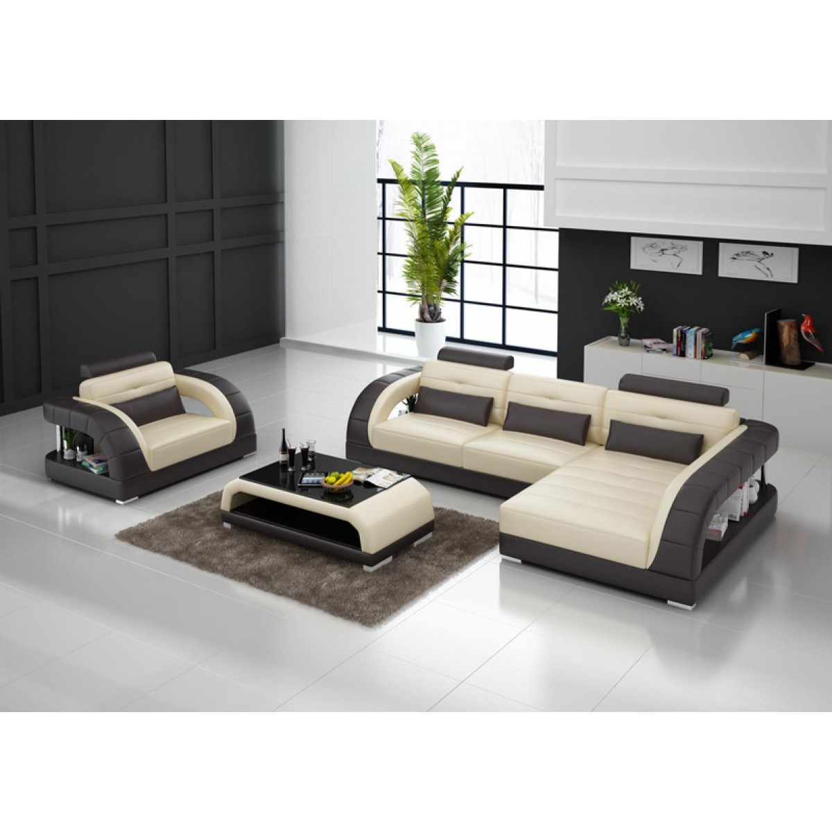 beautiful canape demi lune 6 canape d angle en cuir. Black Bedroom Furniture Sets. Home Design Ideas