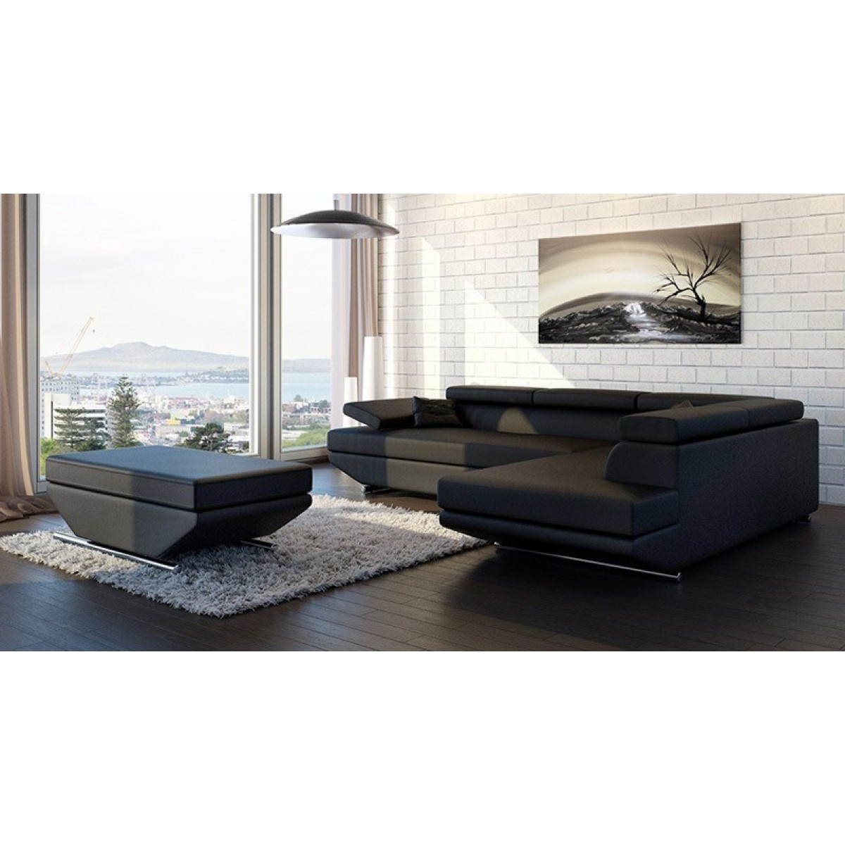 canap d 39 angle en cuir annecy canap s d 39 angle en cuir canap s. Black Bedroom Furniture Sets. Home Design Ideas