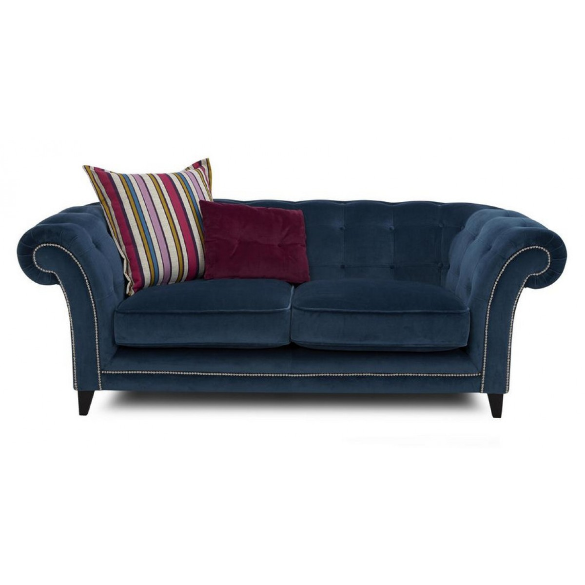 Ensemble de canap s personnalisable chesterfield clout s for Canape angle tissu 7 places