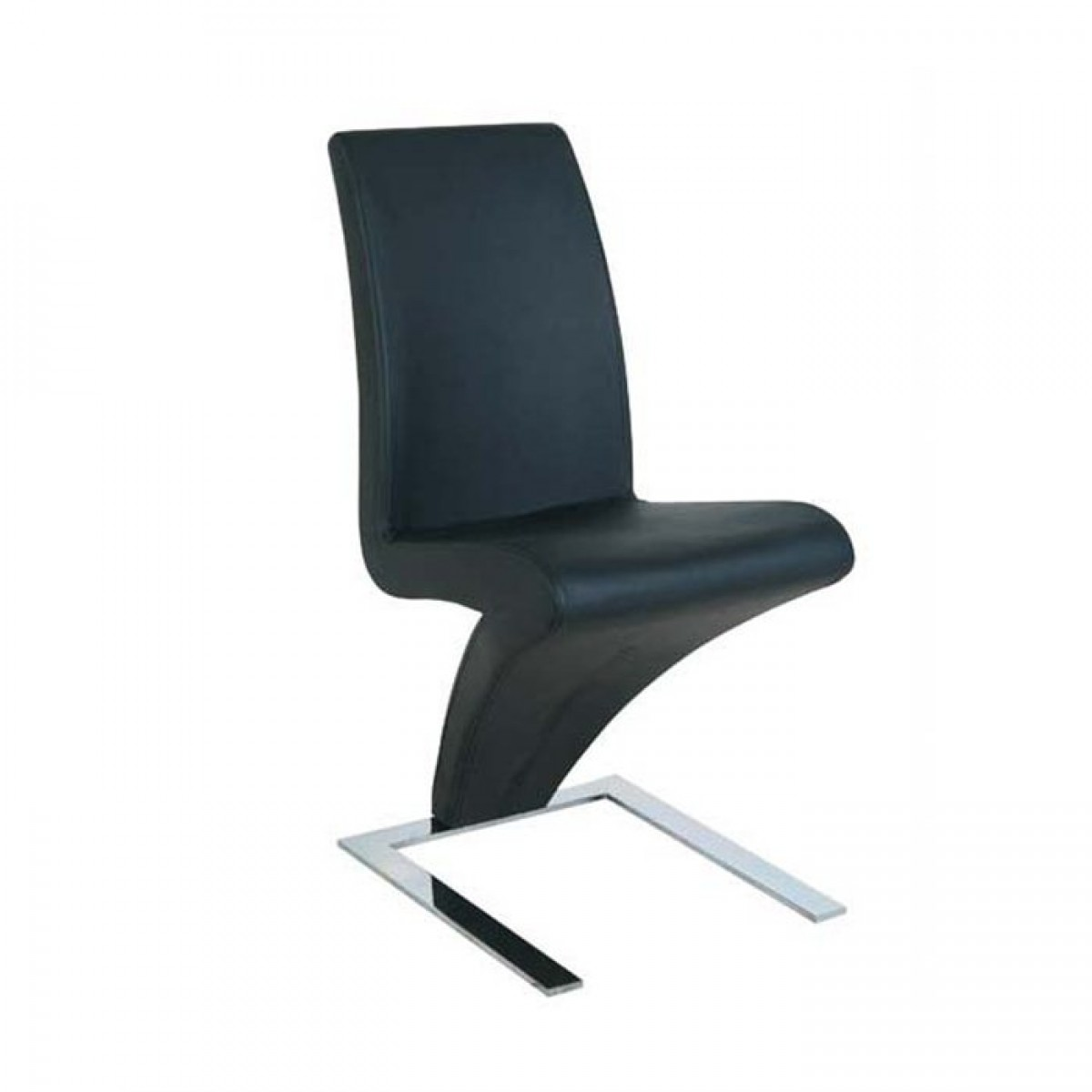 Chaise design z personnalisable chaises for Chaise noir design