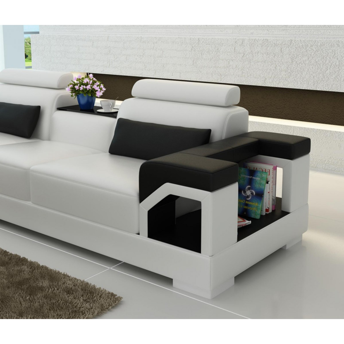 canape design nimes. Black Bedroom Furniture Sets. Home Design Ideas