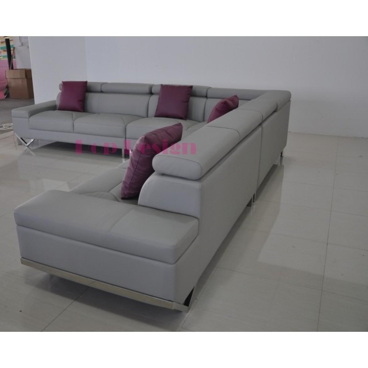grand canap d 39 angle en cuir v ritable siena 350x350. Black Bedroom Furniture Sets. Home Design Ideas