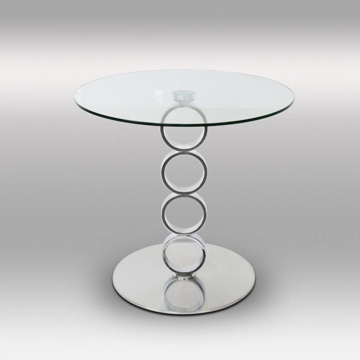 Table Basse En Inox à table basse en inox et verre olympe - tables basses - tables & consoles