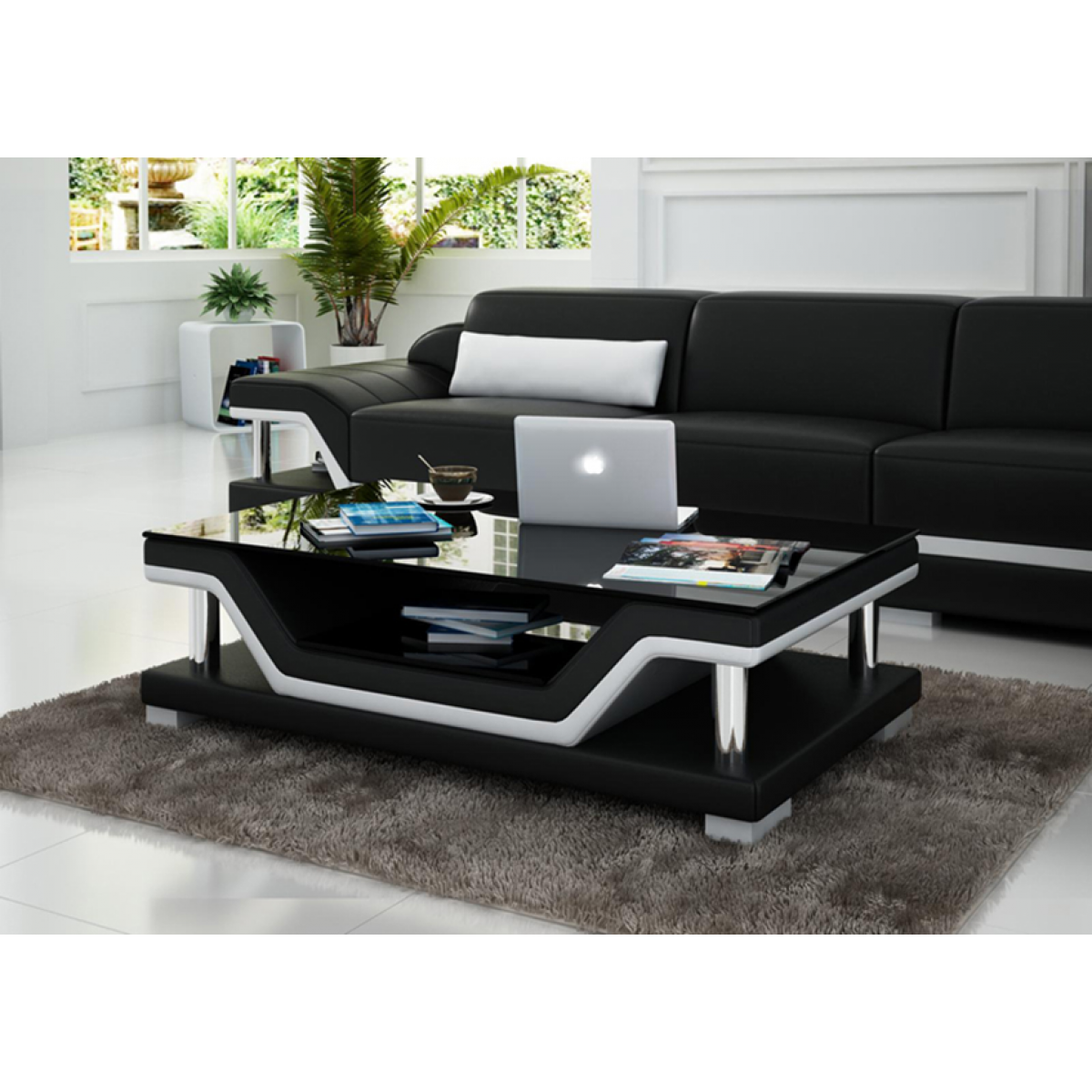table basse design milano pop. Black Bedroom Furniture Sets. Home Design Ideas