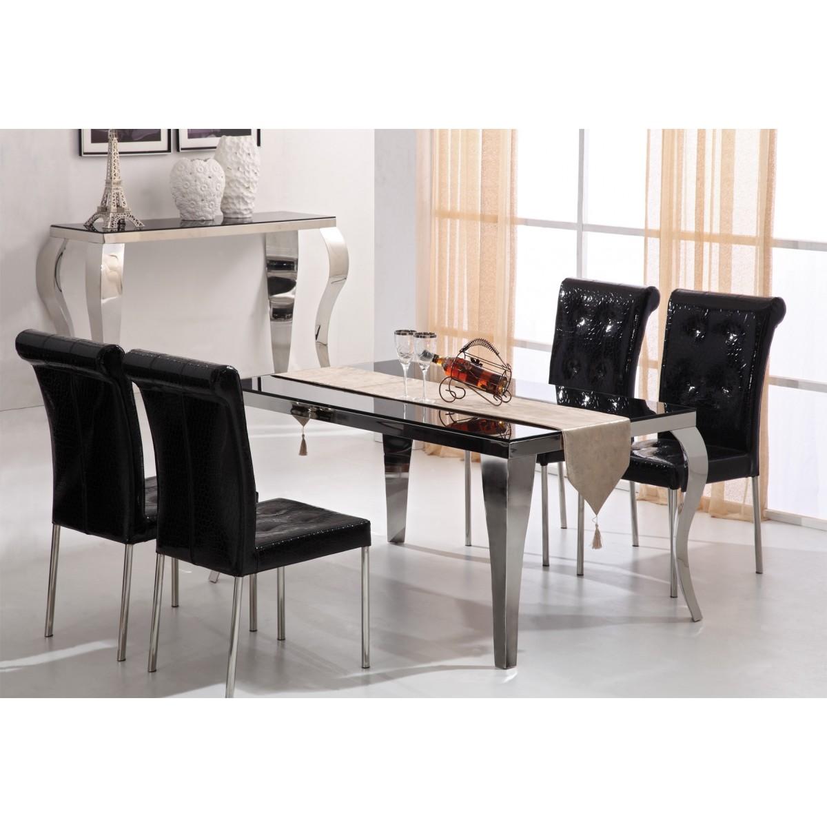Table de salle manger barone for Destockage table a manger
