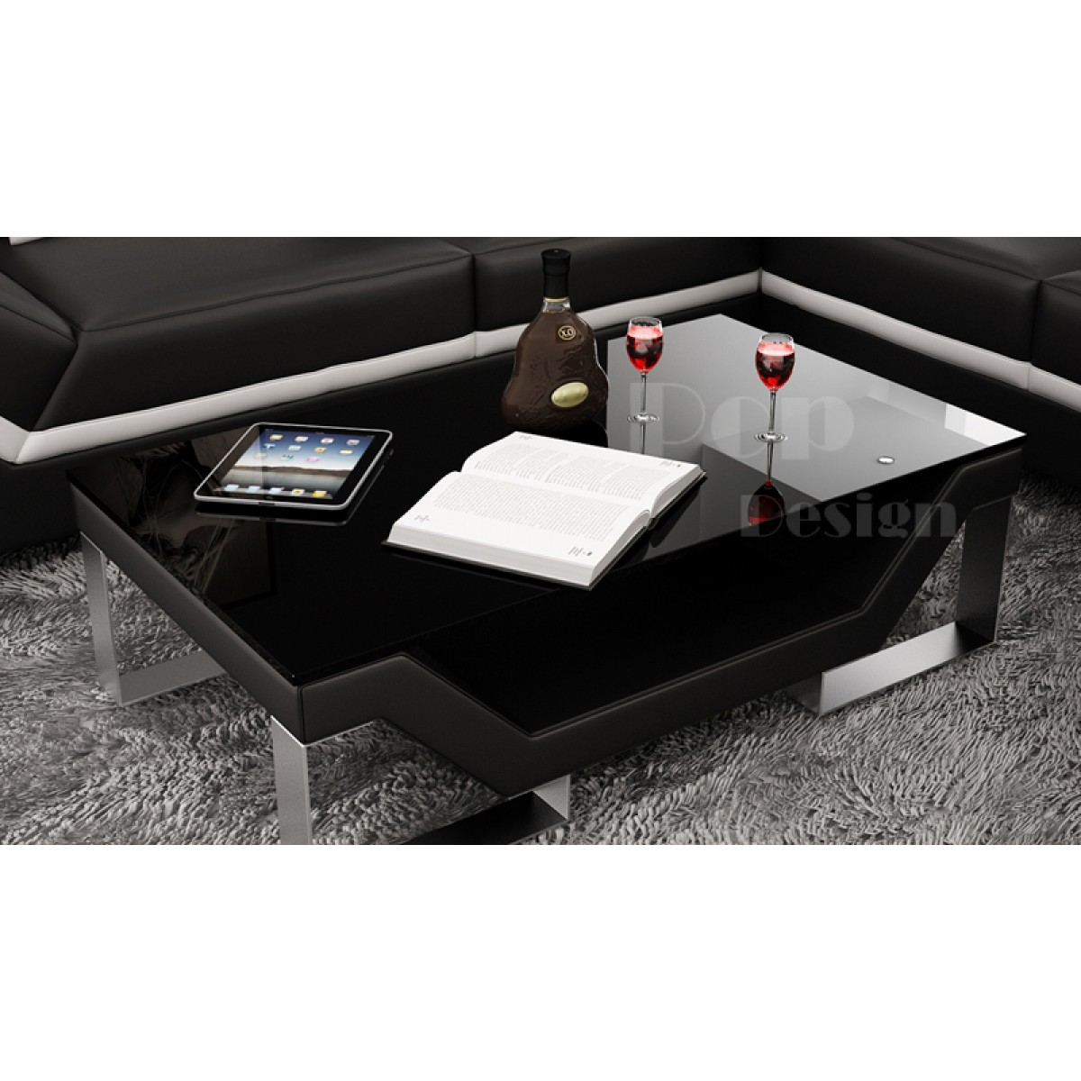 Table basse torino personnalisable pop for Table basse personnalisable