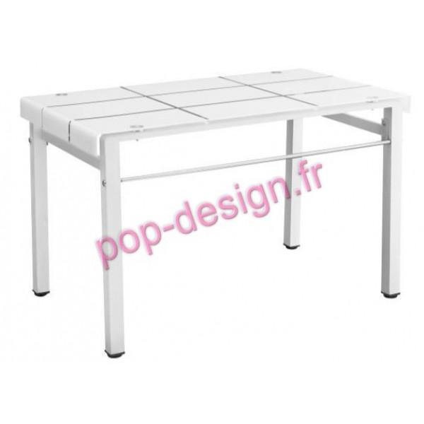 Table De Salle À Manger Milos Blanc 120x70