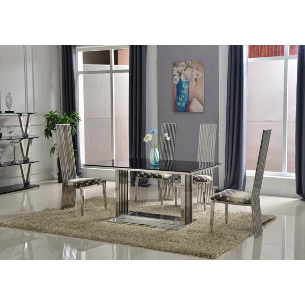 Table de salle à manger en inox RONA