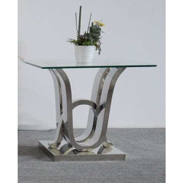 Table d'appoint en inox FLORENCE