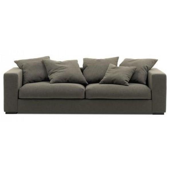 Canapé 3 places en tissu PIRA (miniature)