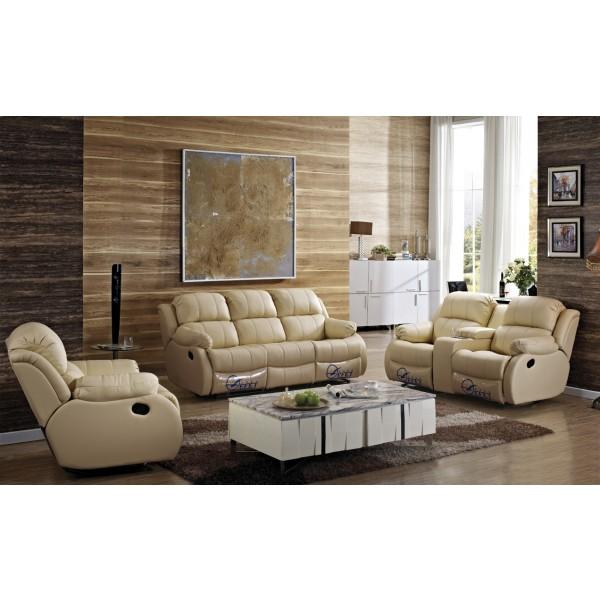Canapé 3+1+1 en cuir Relax PHILIPPE
