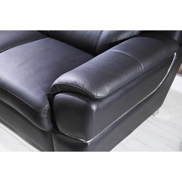 Fauteuil / canapés en cuir set personnalisable - design ARAMIS