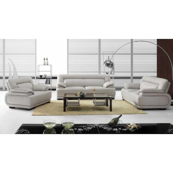 Canapé 3 places en cuir design Astoria