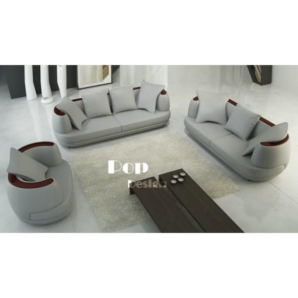 Fauteuil / canapés en cuir design FOCUS
