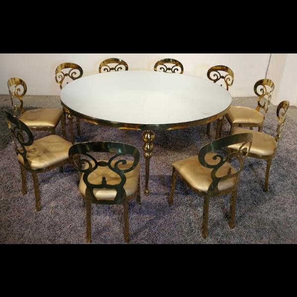 Chaises de salle à manger MILENA - Lot de 6