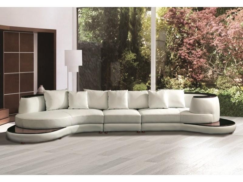 canap demi lune en cuir luna canap s ronds demi lune. Black Bedroom Furniture Sets. Home Design Ideas