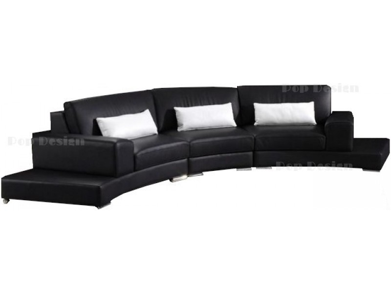 canap arc de cercle id es d 39 images la maison. Black Bedroom Furniture Sets. Home Design Ideas