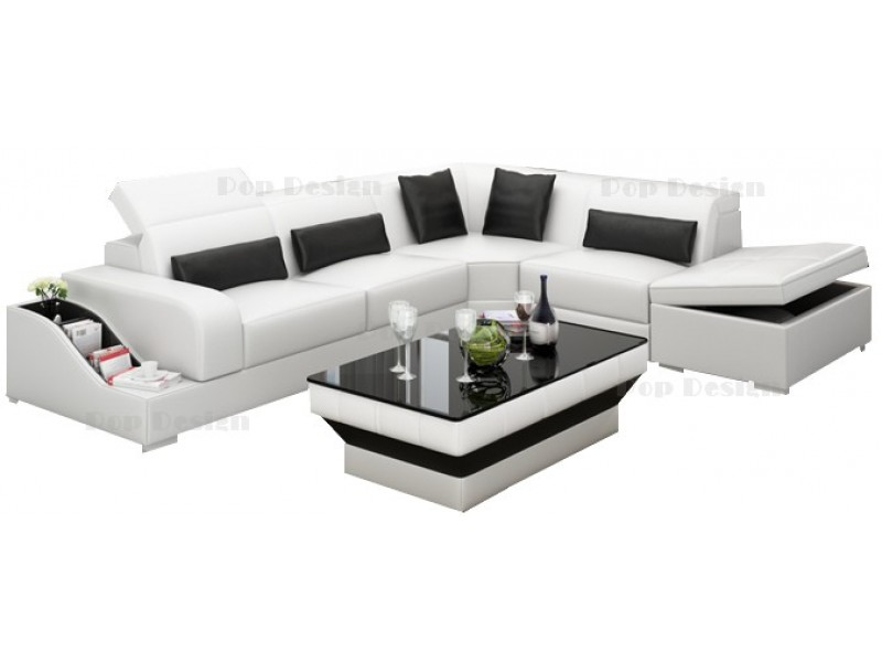 canape d 39 angle avec coffre de rangement. Black Bedroom Furniture Sets. Home Design Ideas