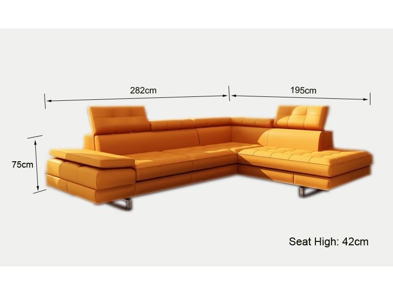 canap d 39 angle en cuir roanne canap s d 39 angle en cuir canap s. Black Bedroom Furniture Sets. Home Design Ideas