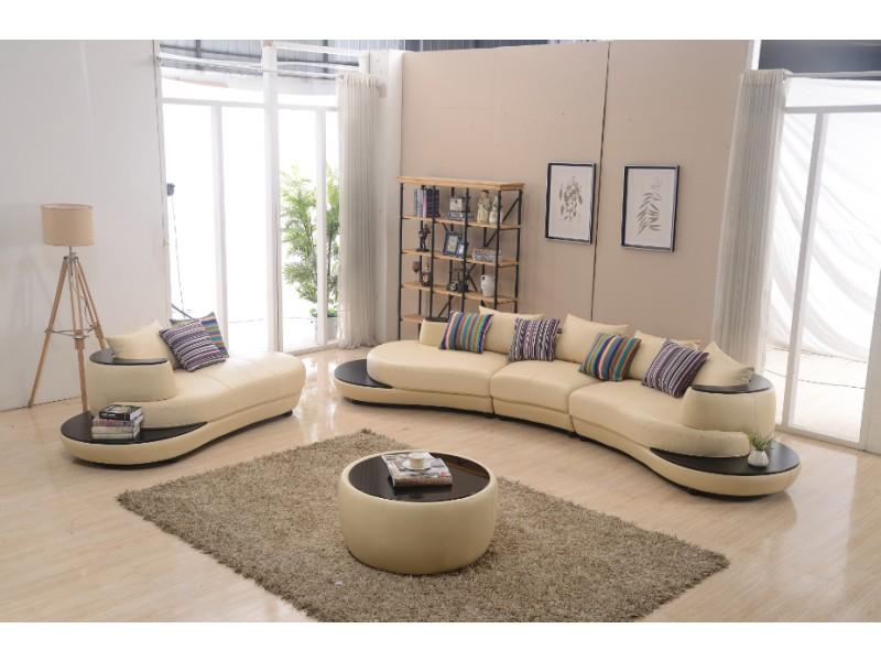 canap demi lune en cuir irma canap s ronds demi lune. Black Bedroom Furniture Sets. Home Design Ideas