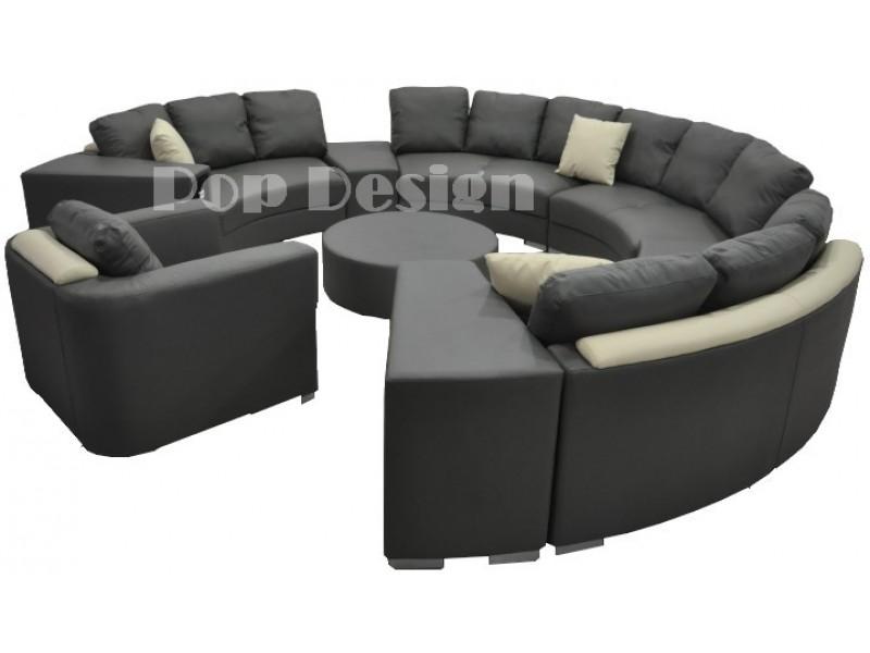 canap rond alicante pop. Black Bedroom Furniture Sets. Home Design Ideas