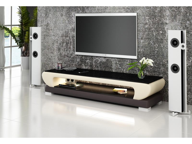 Meuble tv design personnalisable costa pop for Meuble tv beige