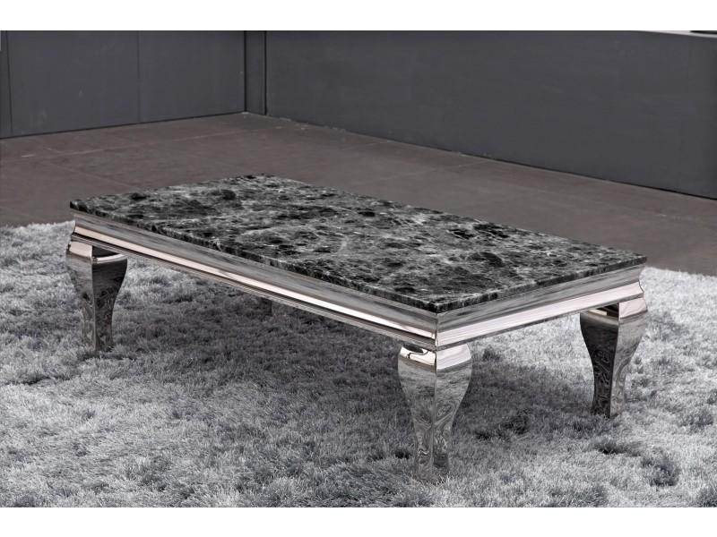 table basse en inox marquise