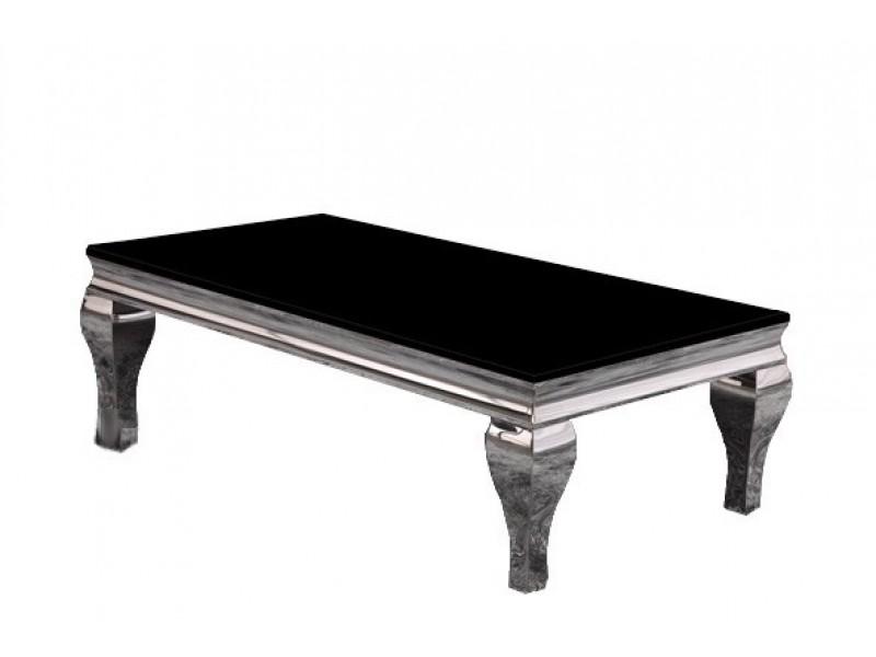table basse en inox marquise. Black Bedroom Furniture Sets. Home Design Ideas