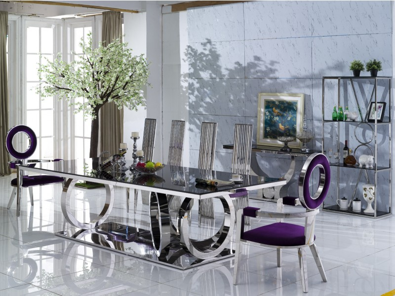 table de salle a manger 12 16 personnes sephora. Black Bedroom Furniture Sets. Home Design Ideas