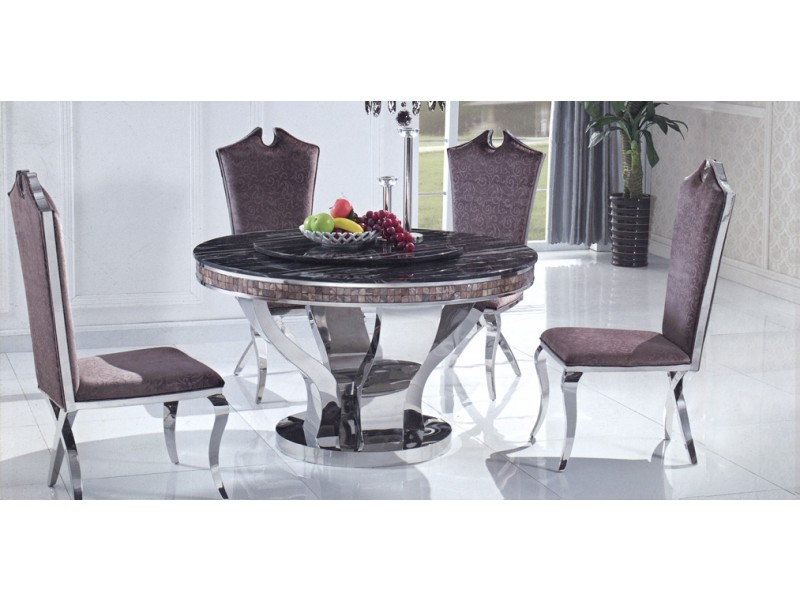 Table de salle manger auguste tables de salle manger tables con - Destockage table a manger ...