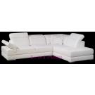 Canapé d'angle en cuir COLORADO