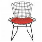 Lot de 4 chaises Bertoia