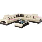 Grand Canapé d'angle en cuir LYON