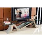 Meuble TV en inox VOGA