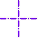 Coutures centrales ( en croix) parallèles au long du coussin
