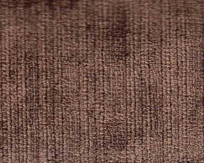 Microfibre marron foncé