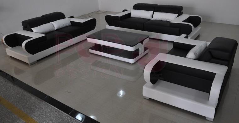 canap d 39 angle en cuir magnolia clairages pop. Black Bedroom Furniture Sets. Home Design Ideas