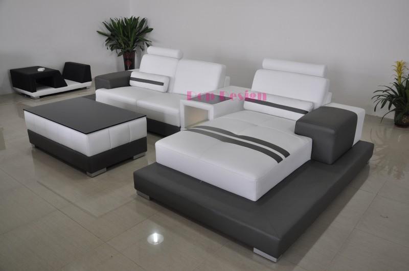 canape cuir pino D couleur blanc 02 gris 17 1 Résultat Supérieur 49 Superbe Canape Cuir Gris Blanc Galerie 2017 Kse4