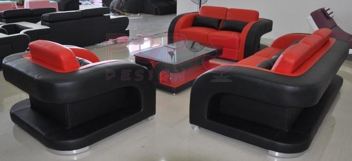 set de canaps poltroni rouge et noir 3 2 1 avec table basse poltroni assortie - Table Basse Rouge Et Noir