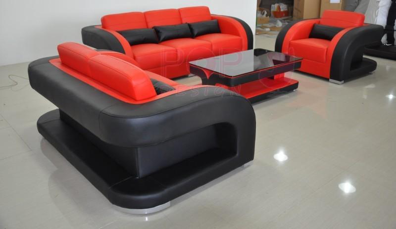 acheter un canap poltroni - Table Basse Rouge Et Noir