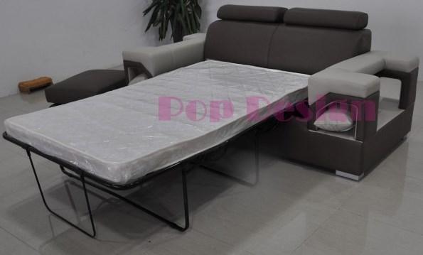 fauteuil canap s en cuir nimes lit convertible en option pop. Black Bedroom Furniture Sets. Home Design Ideas